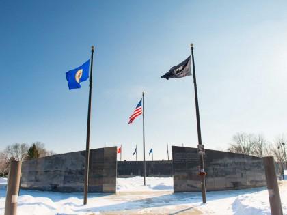 Soldiers Field Veterans Memorial Wall